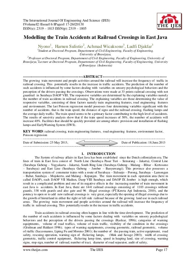 The International Journal Of Engineering And Science (IJES) ||Volume||2 ||Issue|| 6 ||Pages|| 17-26||2013|| ISSN(e): 2319 ...