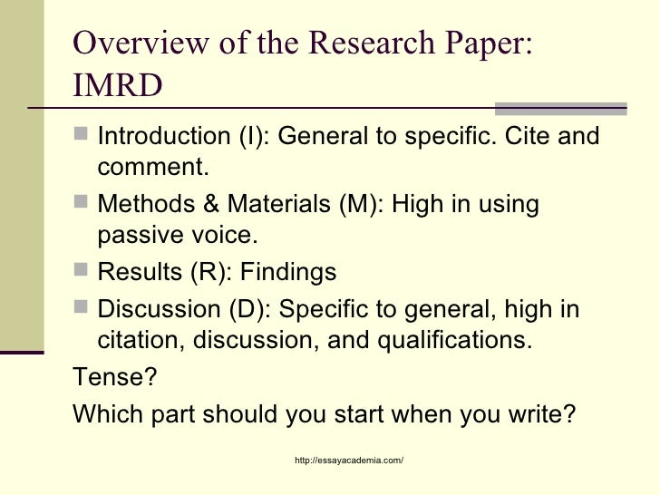 parts of qualitative research paper Because qualitative research often is not seen as objective in its methods, convincing your audience that your methods and results are reliable and trustworthy is also part of your proposal's methodology section for.