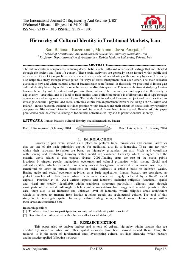 The International Journal Of Engineering And Science (IJES)   Volume  3   Issue   1  Pages   16-24  2014   ISSN(e): 2319 –...