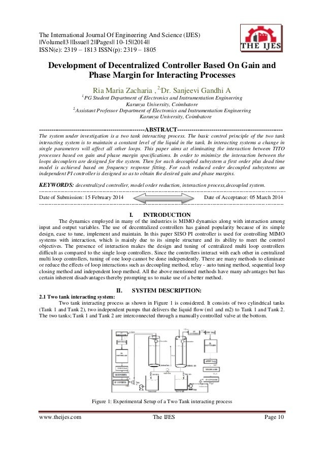 The International Journal Of Engineering And Science (IJES) ||Volume||3 ||Issue|| 2||Pages|| 10-15||2014|| ISSN(e): 2319 –...