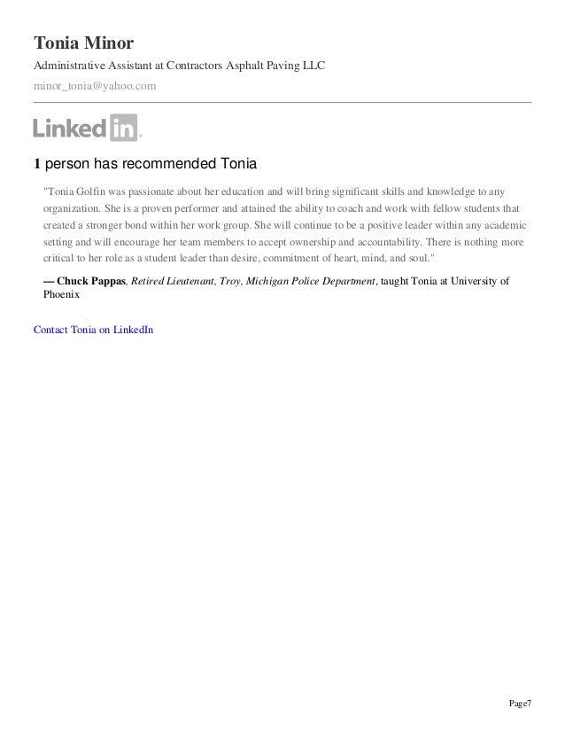 2015 linkedin pdf resume