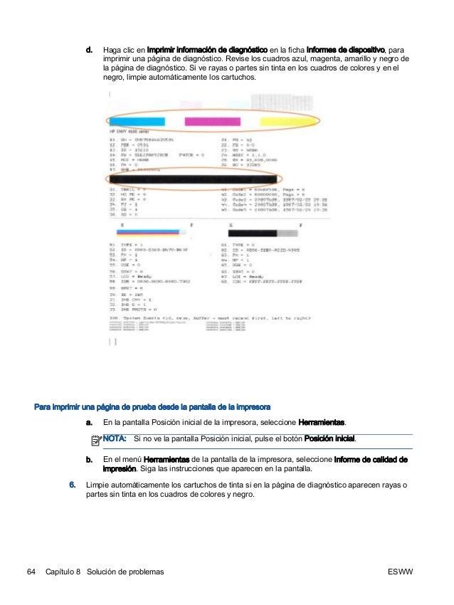 Manual impresora HP Envy 4500