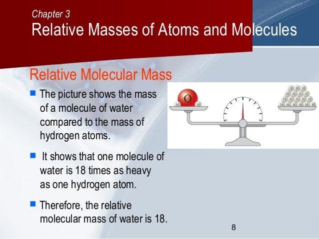 C03 Relative Masses Of Atoms And Molecules