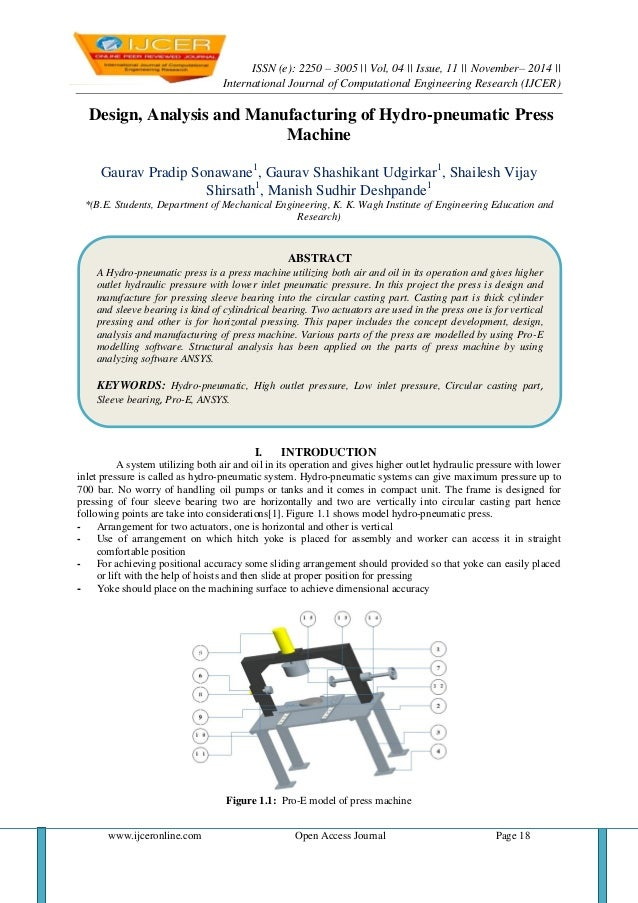 ISSN (e): 2250 – 3005 || Vol, 04 || Issue, 11 || November– 2014 ||  International Journal of Computational Engineering Res...