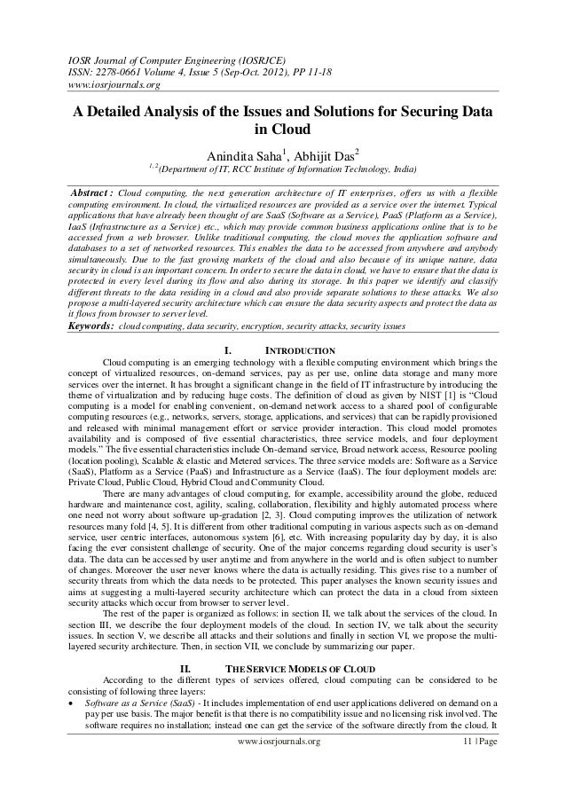 IOSR Journal of Computer Engineering (IOSRJCE) ISSN: 2278-0661 Volume 4, Issue 5 (Sep-Oct. 2012), PP 11-18 www.iosrjournal...