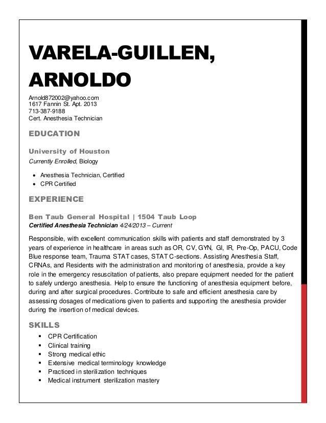 Arnold Varela Resume