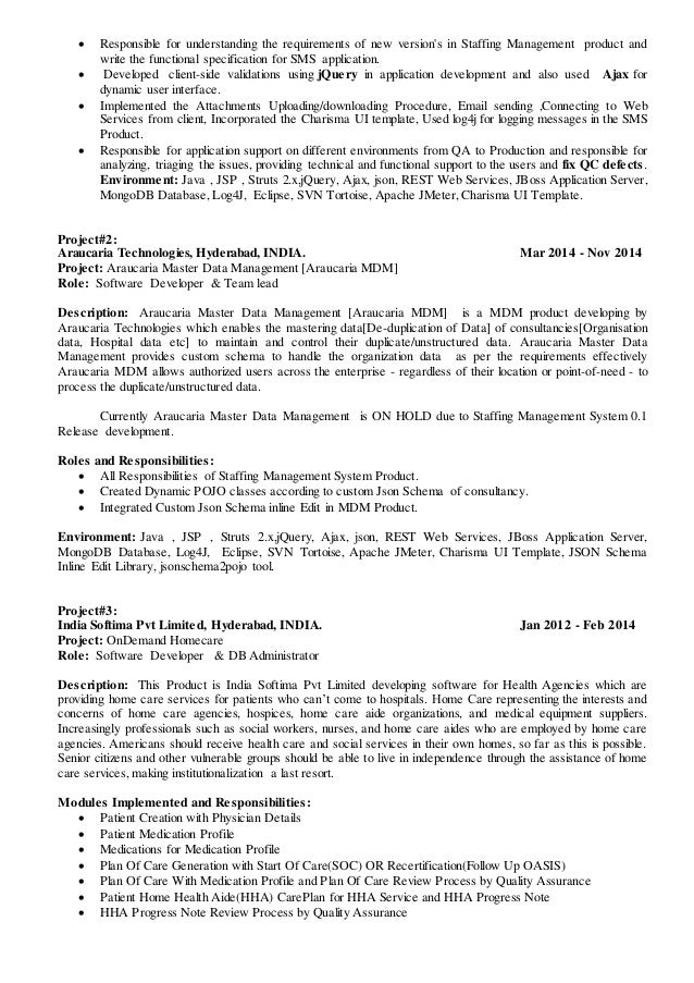 2 - Restful Web Services Resume