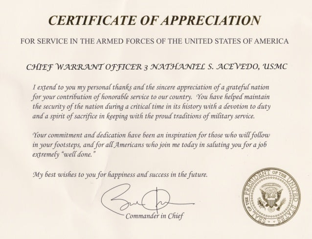 retirement letter of appreciation from the president presidential retirement certificate images search 116