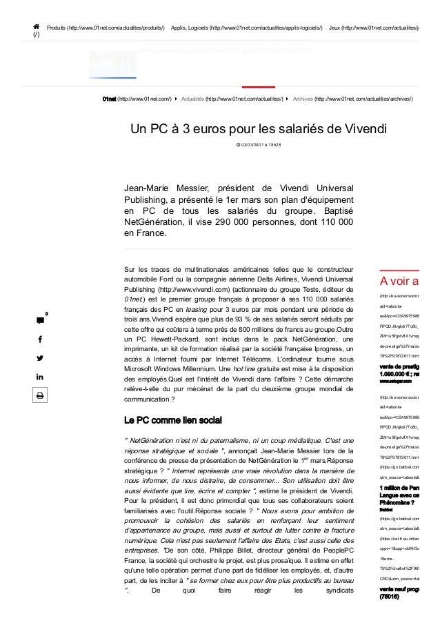 AlpesMaritimes06100NiceDécouvreznosoffresJ'enprofiteàpartirde0€  (/) Produits (http://www.01net.com/actualites/p...