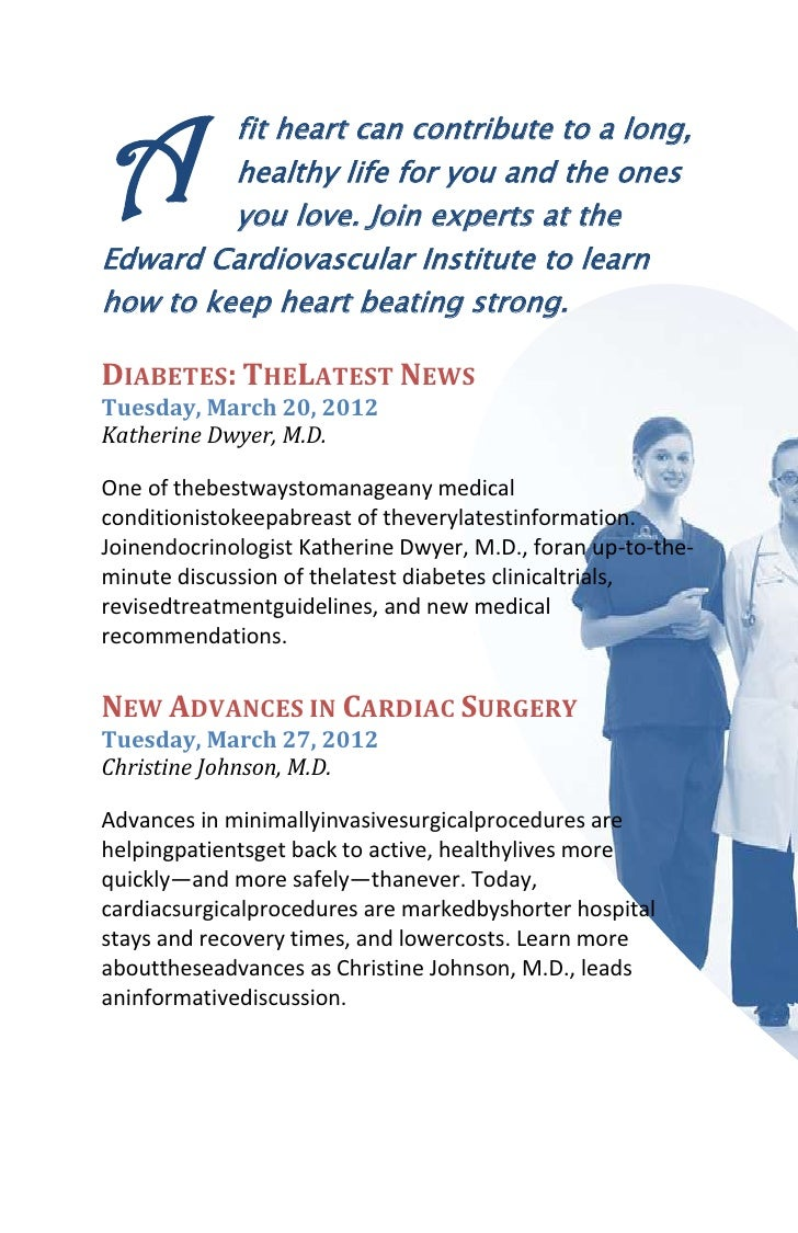 A        fit heart can contribute to a long,         healthy life for you and the ones         you love. Join experts at t...