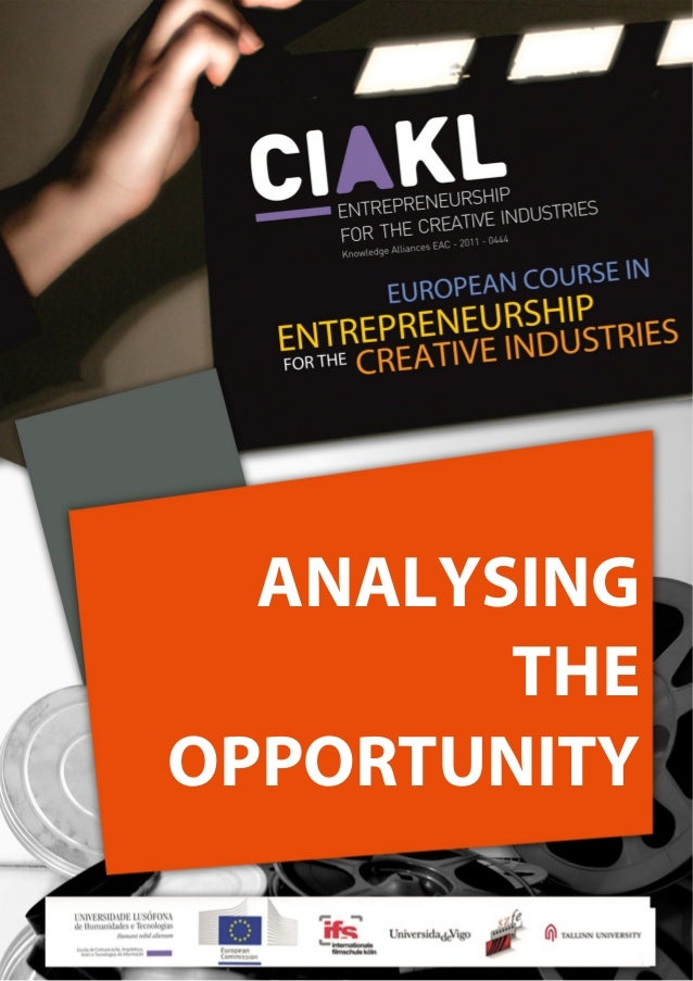 EUROPEAN COURSE IN ENTREPRENEURSHIP FOR THE CREATIV...