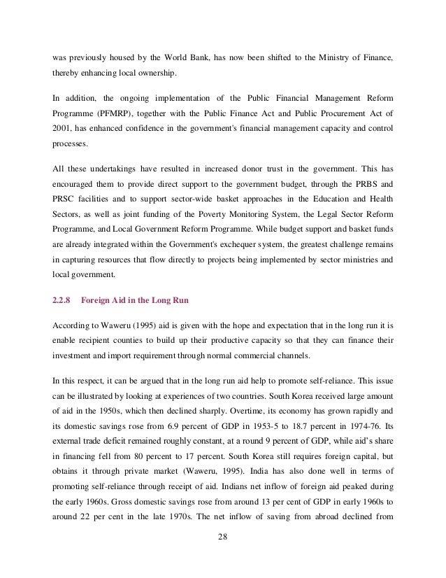 Medium-term budget framework thesis