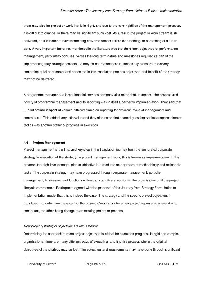 dissertation on strategy formulation 2014 developing and testing a new framework for  i hope this dissertation is able to repay this large debt  251 strategy formulation.