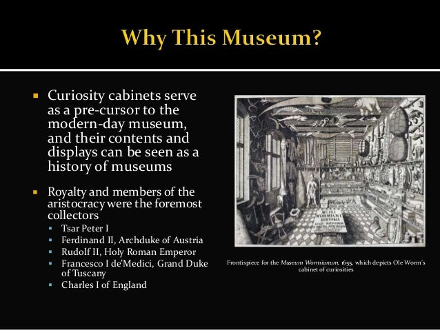 Ideal Museum Project: The American Museum of Wonder and Curiosity Cab…