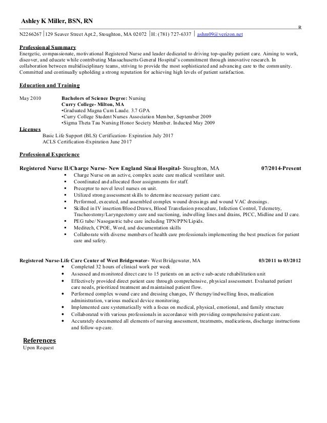 Final Resume Mgh Ashley K Miller