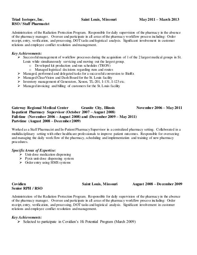 Jerrod Brown Resume 2015