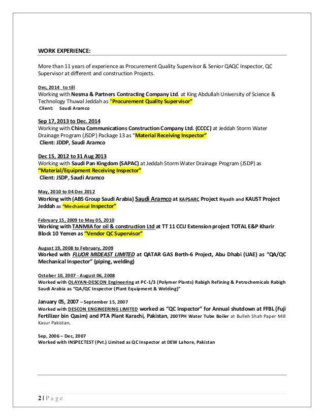 piping supervisor resume - Vatoz.atozdevelopment.co