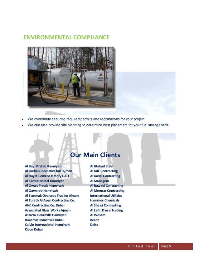Company Profile United Fuel Emirates