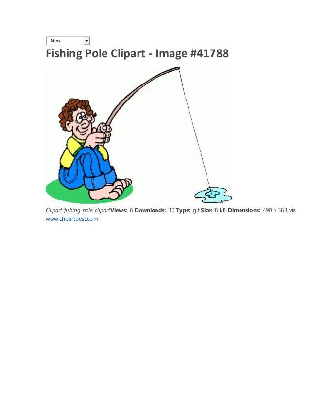 Fishing Pole Clipart