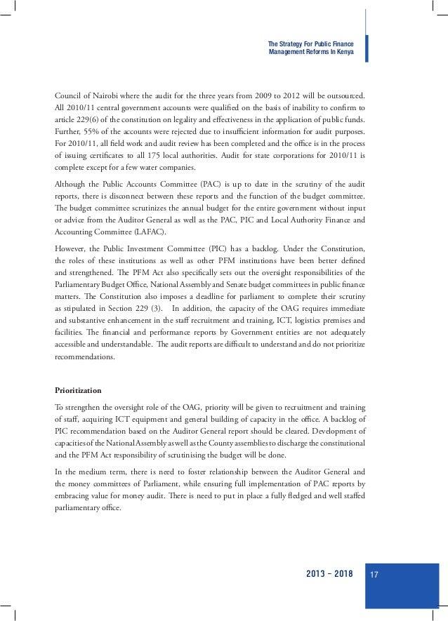 Public finance paper