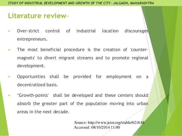 literature review of industrial policies Review of literature has vital relevance with any research work due to literature review the possibility of repetition of study can  industrial and over-all.