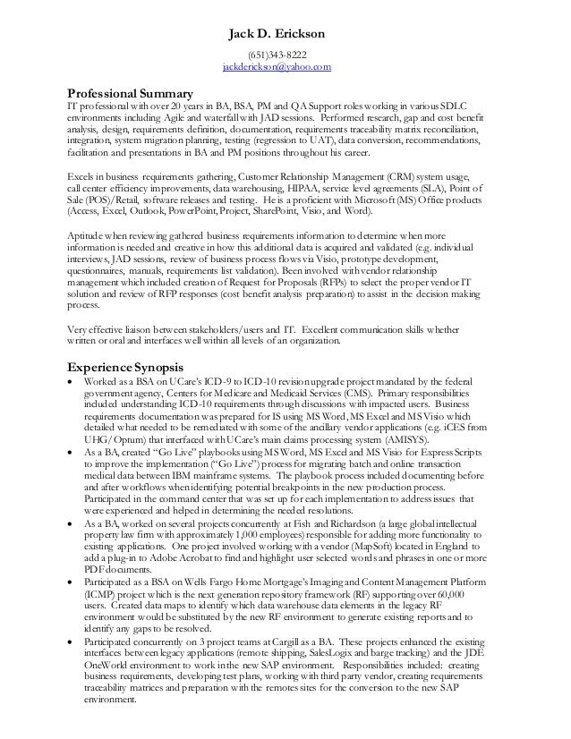 JackDErickson Resume (120214)(General)