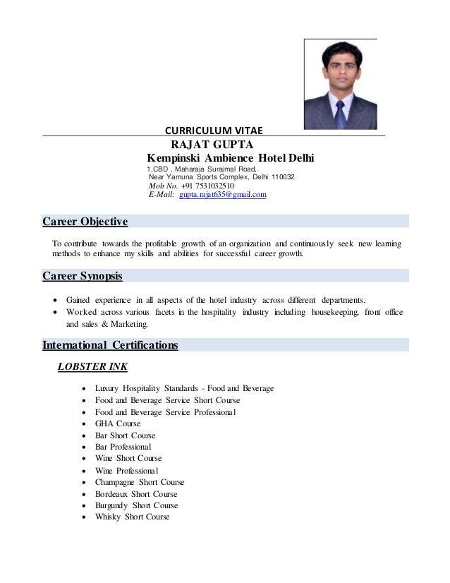 Rajat Resume