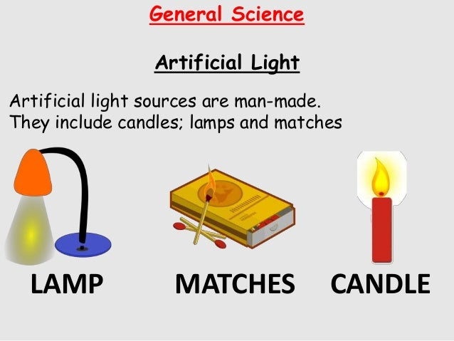 Is A Candle Artificial Or Natural Light