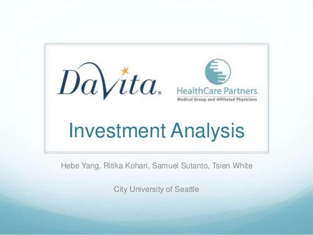 Davita Investmentanalysis