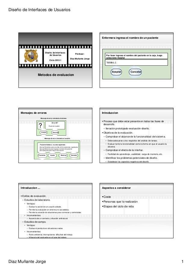 Diseño de Interfaces de Usuarios                                                                                          ...