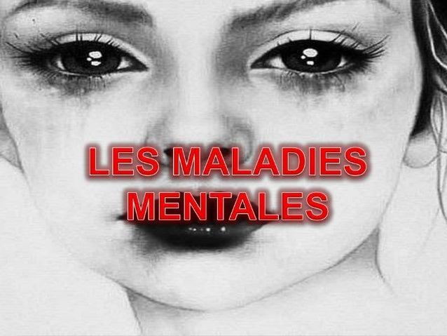 Les maladies mentales  Une image de soi négative  La dépression  L'anorexie  Le suicide  Un cercle vicieux  Ma propr...
