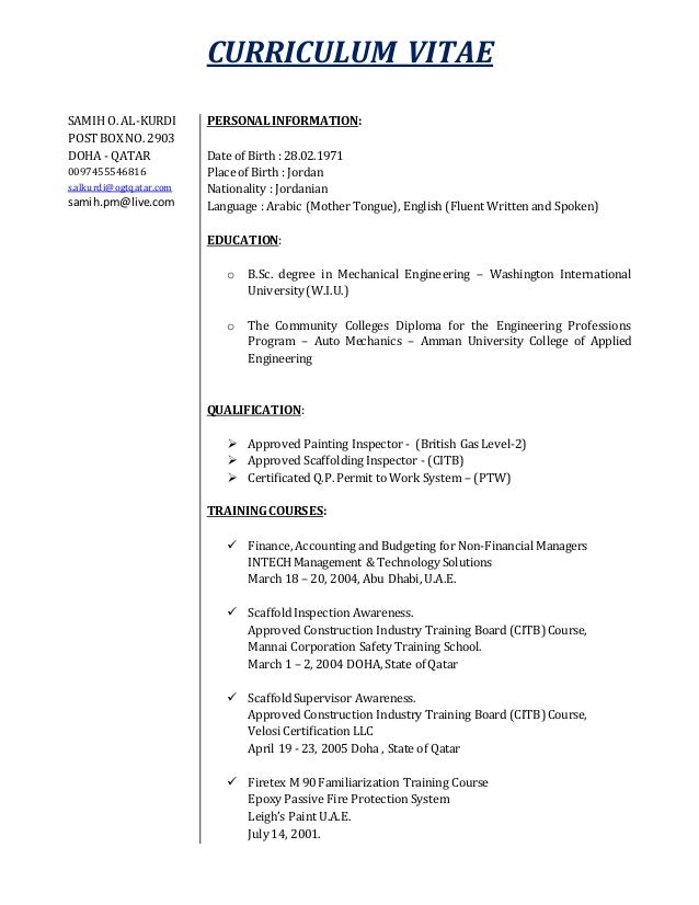 samihcv-docx-1-638 Sample Curriculum Vitae Docx on for accountant partner, graduate school, science research, offer letter, for administrative assistant, for professional contract, medical doctor, for phd,