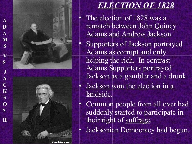 period jacksonian democracy and they saw themselves guardi Jacksonian democracy was a great age of reform jacksonian democrats saw themselves as those who upheld they did not introduce democracy in.