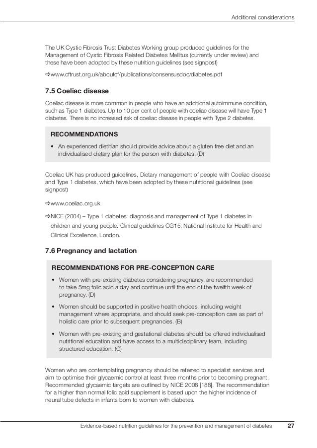 C12 uk evidence based nutrition guidelines 2011