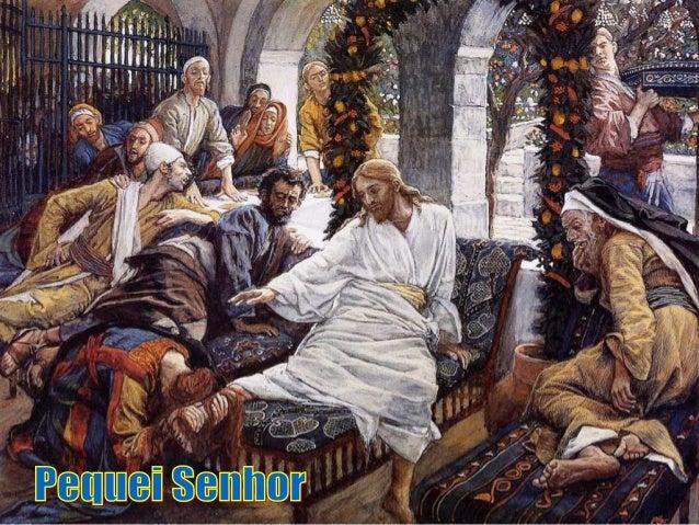 """A Igrejanão é compostapor """"justos"""",mas por pecadores,que precisam do perdãode Deus e dos irmãos.E a Liturgia de hoje nos a..."""