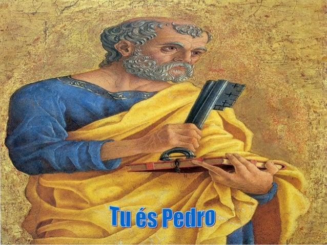 Celebramos hoje a festa de dois Apóstolos marcantesda Igreja primitiva: São Pedro e São Paulo.- Diferentes: na vocação, no...