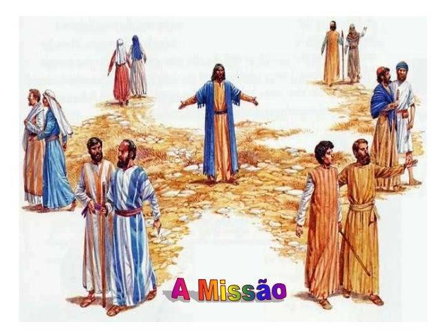 Na realização de seus planos, Deus sempre escolhe e envia pessoas em MISSÃO. As Leituras falam de TRÊS ENVIOS: um profeta ...