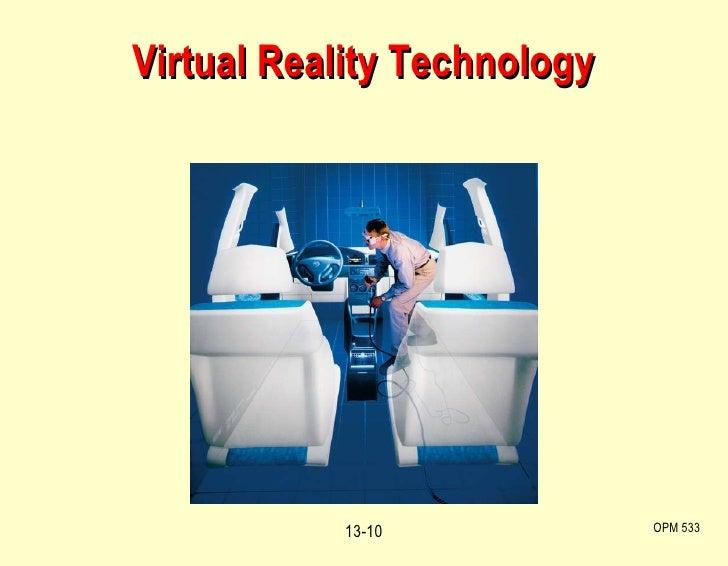 Virtual Reality Technology OPM 533 13-