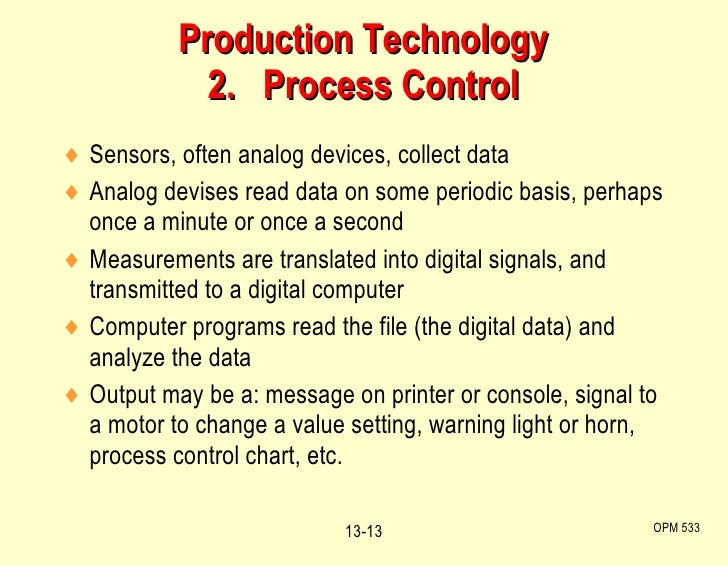 <ul><li>Sensors, often analog devices, collect data </li></ul><ul><li>Analog devises read data on some periodic basis, per...