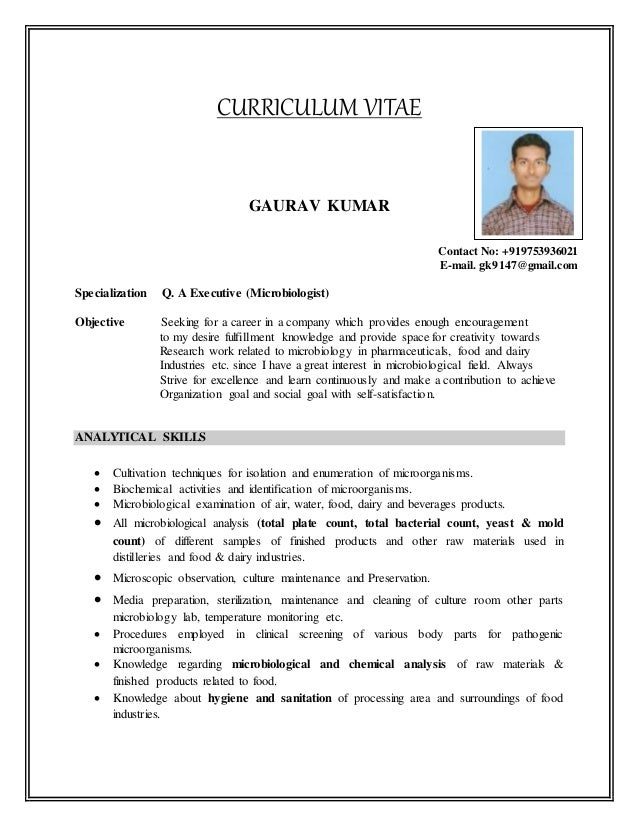 gaurav cv