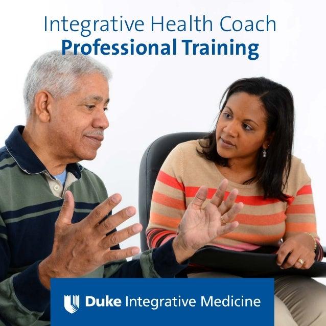 Integrative Health Coach Professional Training