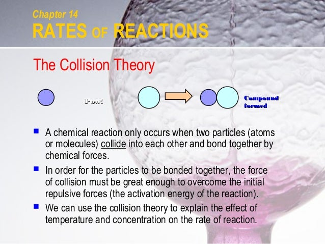 the collision theory 15-1 chapter 15 collision theory despite my resistance to hyperbole, the lhc [large hadron collider] belongs to a world that can only be described with superlatives.