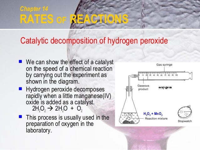 C14 rates of reactions