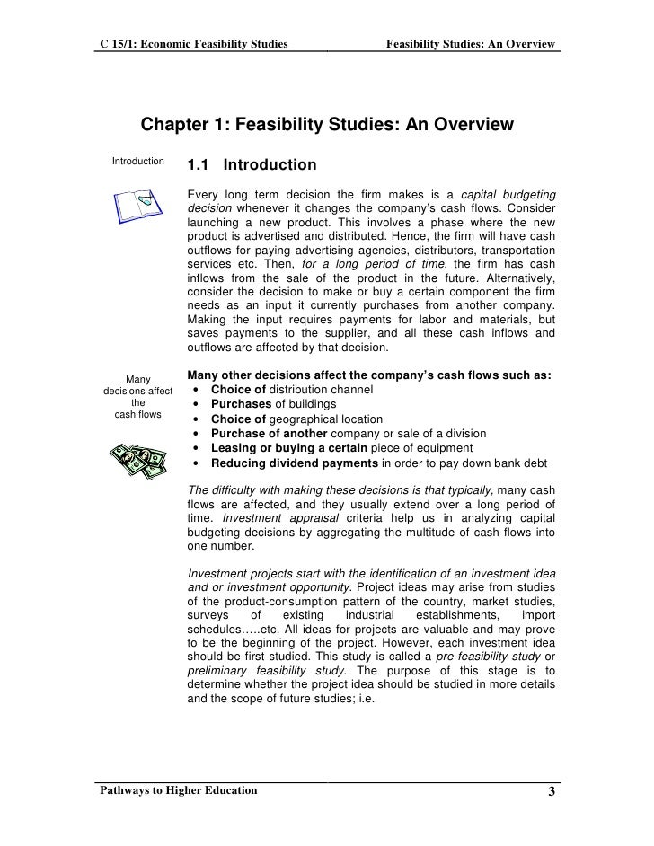 Economic Feasibility Study Template. what is a feasibility study ...