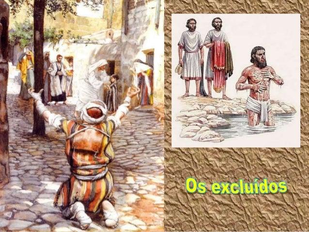 """Os Excluídos Marcos, no Evangelho, vai mostrando: """"Quem é Jesus"""". Não se preocupa com definições abstratas, mas apresenta ..."""