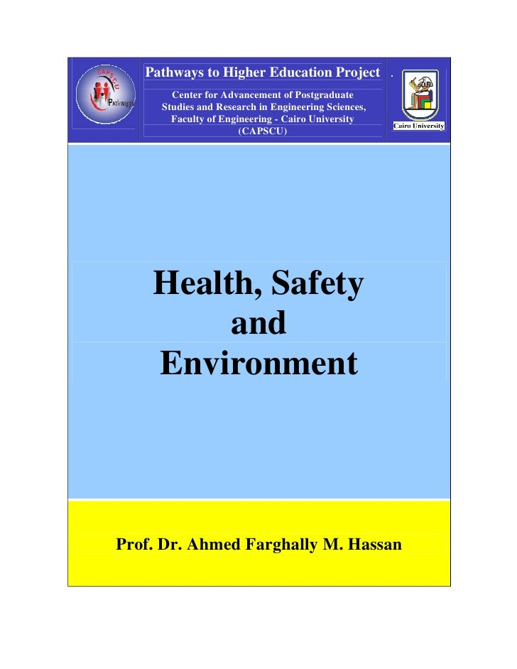 health safety and environment problems of Cdc's national center for environmental health (nceh) plans, directs, and coordinates a program to protect the american people from environmental hazards.
