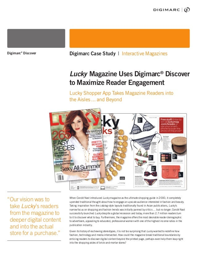 When Condé Nast introduced Lucky magazine as the ultimate shopping guide in 2000, it completely upended traditional though...
