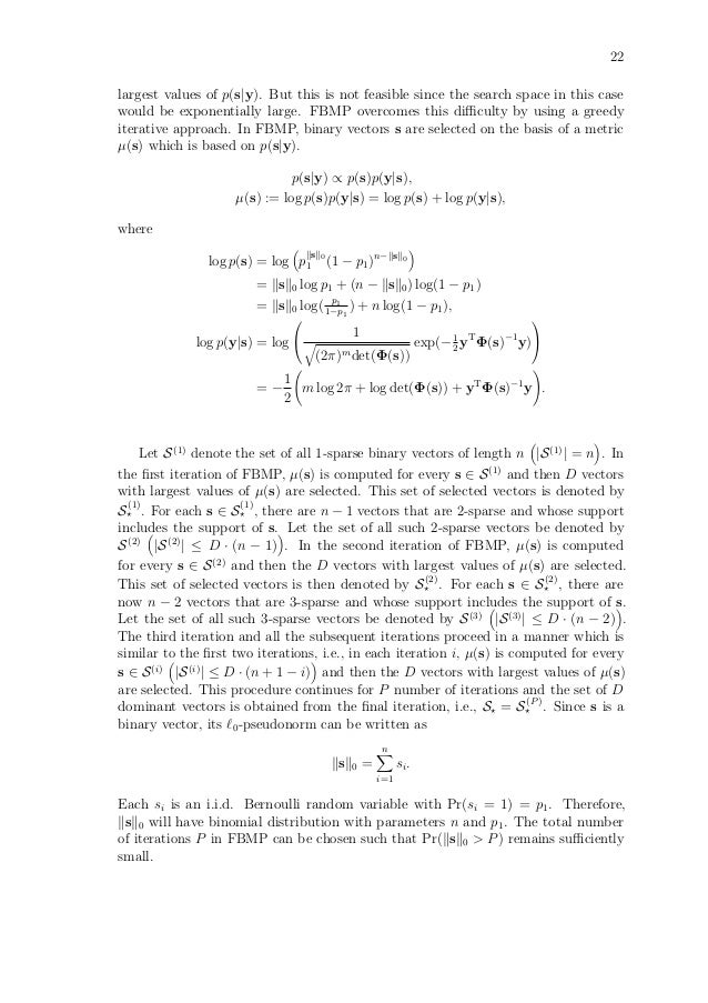 Algorithms For Sparse Signal Recovery In Compressed Sensing