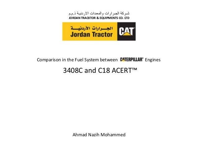 ذ االردنيـة والمعـدات الجـرارات شـركة.م.م JORDAN TRACKTOR & EQUIPMENTS CO. LTD Ahmad Nazih Mohammed Comparis...