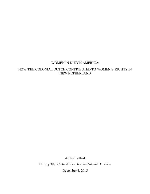 womens rights in colonial america essay Womens rights: women, wives, and widows  a few petitions were submitted to legislatures, but colonial assemblies limited their consideration to divorces from.